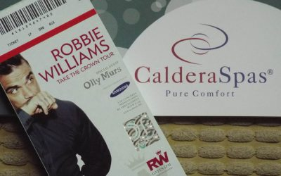 Robbie Williams Tickets Up For Grabs