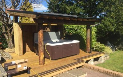 Bishopton, Glasgow Hot Tub Install