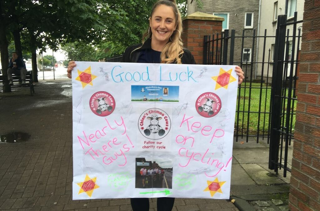 Chloe's Charity Cycle More Info Click Picture For Day 11 Update – 9th July 2017 10am